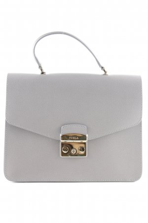 "Furla Sac à main ""Metropolis M Top Handle Onice"" gris clair"