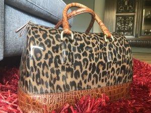 Furla Handtasche mit Leoprint