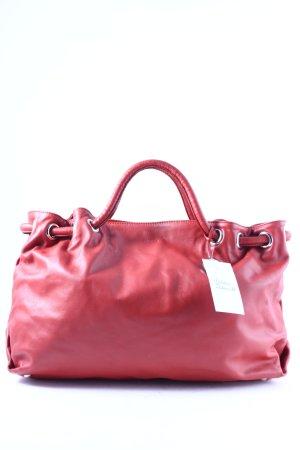Furla Handtasche rostrot schlichter Stil