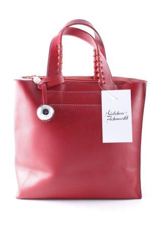 Furla Handtasche rot klassischer Stil