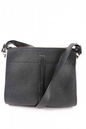 Furla Handtasche schwarz-hellbeige Elegant