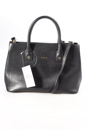 Furla Handtasche schwarz klassischer Stil