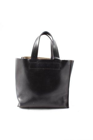 Furla Handtasche schwarzbraun schlichter Stil