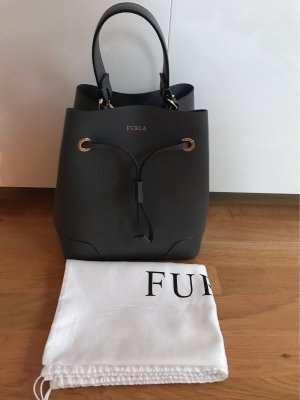 Furla Pouch Bag anthracite-dark grey