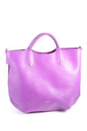 Furla Handtasche violett Street-Fashion-Look