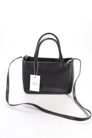 neu tommy hilfiger original satchel tasche schwarz. Black Bedroom Furniture Sets. Home Design Ideas