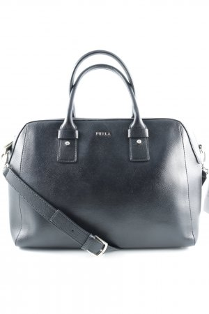 "Furla Carry Bag ""Allegra Medium Satchel Onyx"" black"