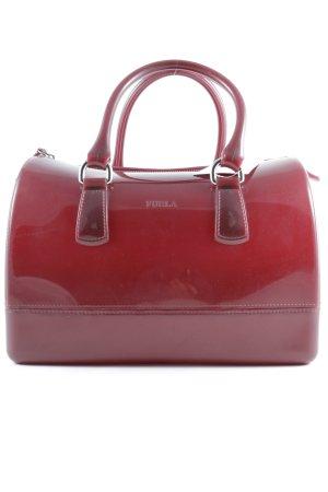 Furla Carry Bag dark red minimalist style