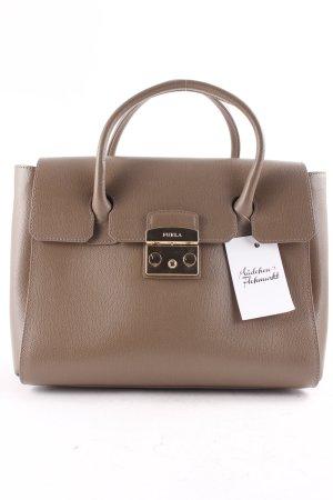 """Furla Carry Bag """"Metropolis"""" light brown"""