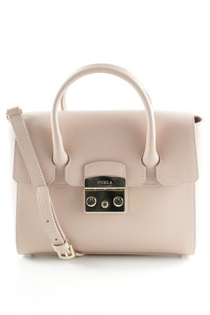 "Furla Carry Bag ""Metropolis S Satchel Leather Moonstone"" nude"