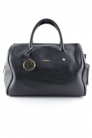 Furla Carry Bag black-gold-colored casual look
