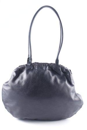 Furla Henkeltasche schwarz klassischer Stil
