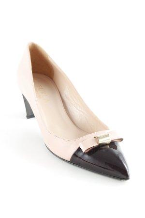 Furla High Heels rosa-schwarz Elegant