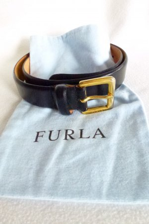 Furla Waist Belt black leather