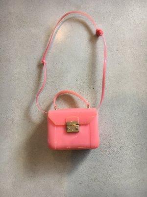 Furla Kunststoff Tasche bag rosa