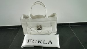Furla Carry Bag white leather