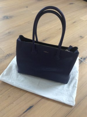 Furla Martha M Tote in blau