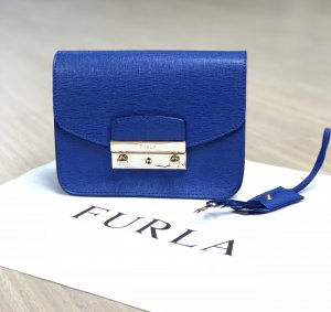 Furla Metropolis Crossbody-Bag in blau