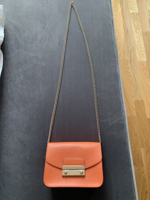 Furla Metropolis Crossbody Orange