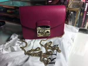 Furla Metropolis Lampone Pink Minibag Tasche