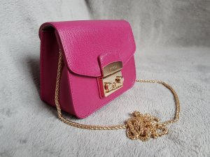 Furla Crossbody bag purple-violet leather