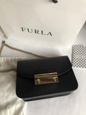 Furla Metropolis Mini Crossbody Bag Umhängetasche schwarz