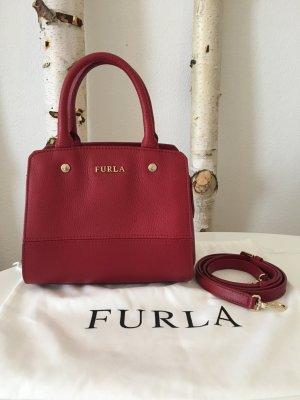 Furla Mini sac rouge brique