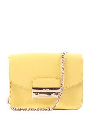 Furla Mini sac jaune-jaune foncé élégant