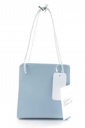 Furla Mini Bag azure-silver-colored elegant