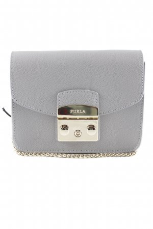 "Furla Mini Bag ""Metropolis Mini Crossbody Onice"" light grey"