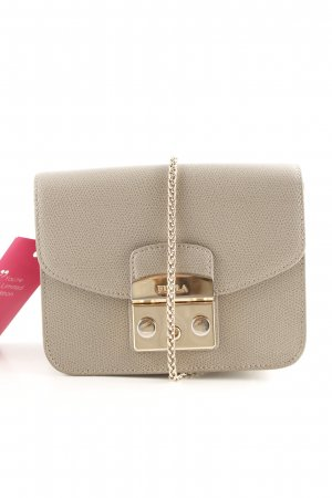 "Furla Mini Bag ""Metropolis Mini Crossbody Sabbia"" grey brown"