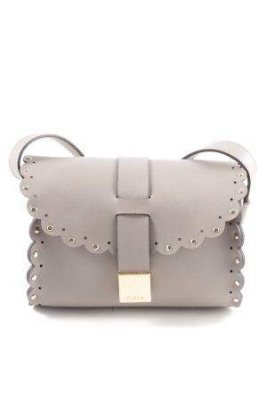 Furla Mini sac gris clair-doré style décontracté