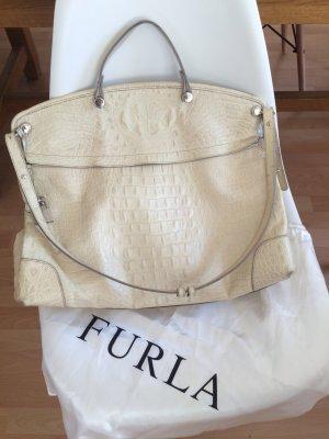 Furla Piper Handbag Croco-Prägung