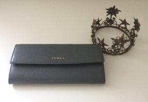 Furla Wallet grey leather