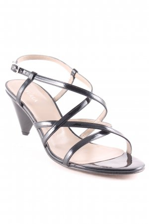 Furla Strapped High-Heeled Sandals black elegant