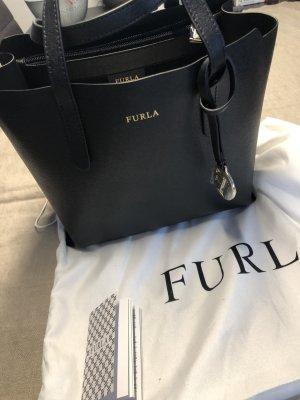 Furla Carry Bag black-gold-colored