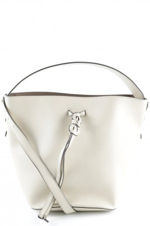 "Furla Satchel ""Vittoria Small Bucket Bag Drawstring Acero"" creme"