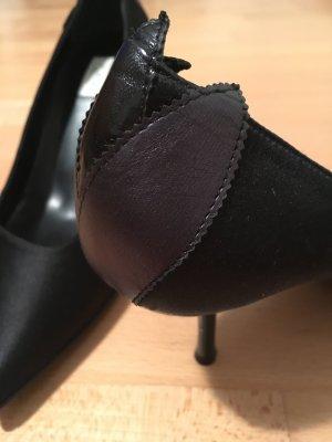Furla Satin/Leder Schuhe
