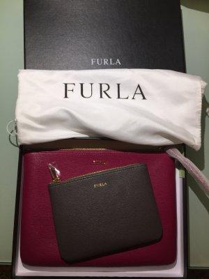 Furla Set Clutch und Kosmetiktasche neu mit Etikett