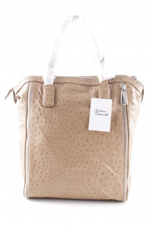 Furla Shopper camel-hellbraun Animalmuster Casual-Look