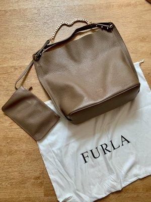 FURLA Shopper in beige