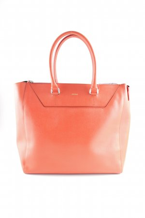 Furla Shopper neonorange Street-Fashion-Look