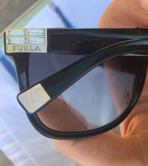 Furla Angular Shaped Sunglasses black