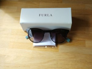Furla Panto Glasses black-light blue