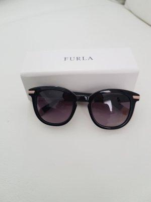 Furla Panto Glasses black-cream