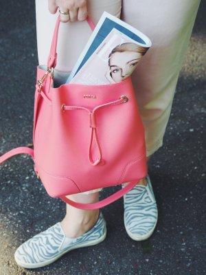 Furla Borsellino rosa-albicocca Pelle