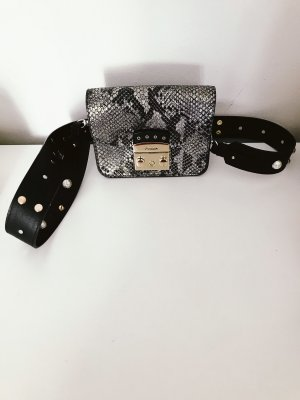 Furla Crossbody bag silver-colored-black