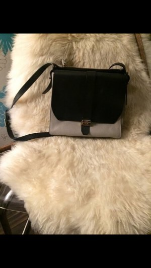 Furla Tasche grau/schwarz