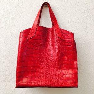 Furla Tasche Leder rot
