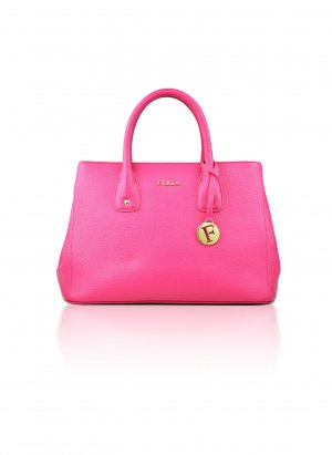 FURLA Tasche Leder SERENA Rosa, Pink, Leather Tote Bag